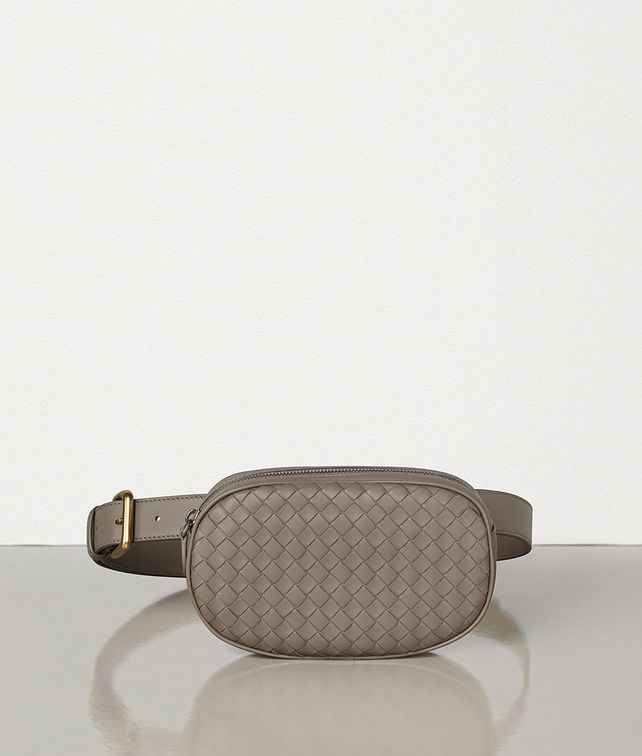 BOTTEGA VENETA BELT BAG IN INTRECCIATO NAPPA Crossbody and Belt Bags [*** pickupInStoreShipping_info ***] fp