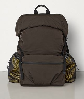 LARGE BACKPACK IN PAPER TOUCH NYLON