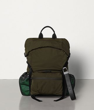 SMALL BACKPACK IN PAPER TOUCH NYLON