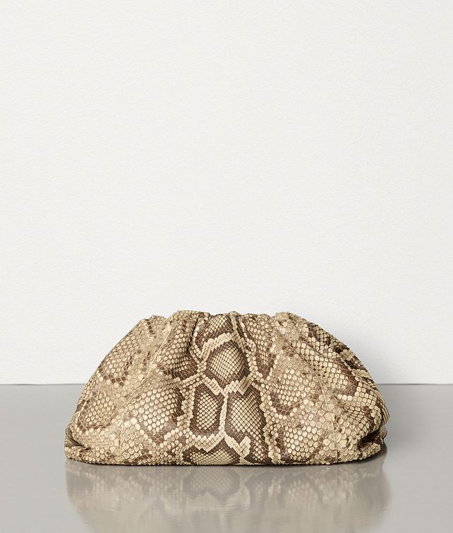 BOTTEGA VENETA THE POUCH IN PYTHON Clutch Woman fp