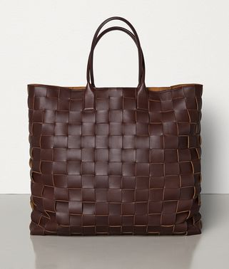 EXTRA-LARGE MAXI INTRECCIO TOTE IN NAPPA