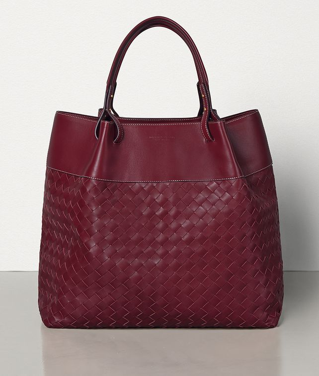 BOTTEGA VENETA QUAD TOTE IN INTRECCIO NAPPA Tote Bag Woman fp