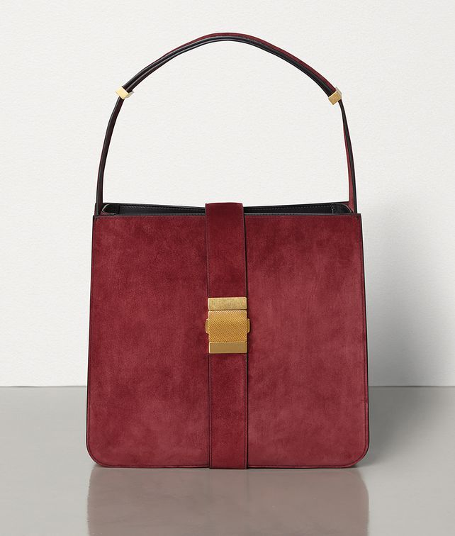 BOTTEGA VENETA MARIE BAG IN CASHMERE SUEDE Shoulder Bag [*** pickupInStoreShipping_info ***] fp