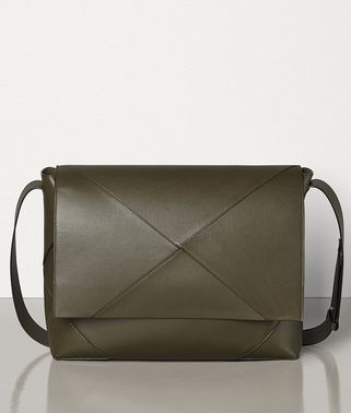 MESSENGER BAG IN BUTTER CALF LEATHER