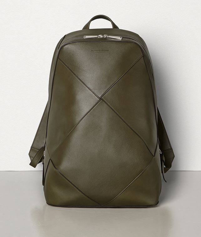 BOTTEGA VENETA LARGE BACKPACK IN BUTTER CALF Backpack Man fp