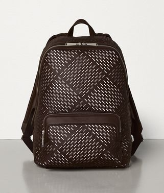 MEDIUM BACKPACK IN PERFORATED MATT CALFSKIN