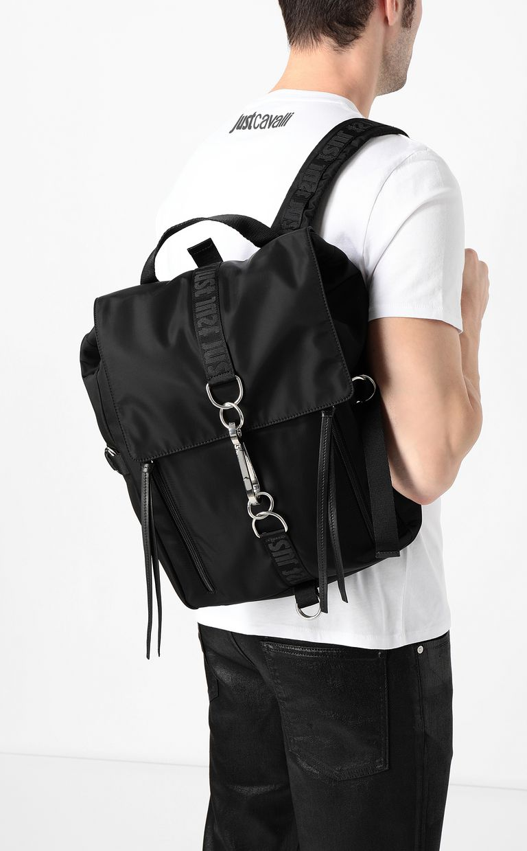 JUST CAVALLI Just backpack in a black palette Backpack Man d