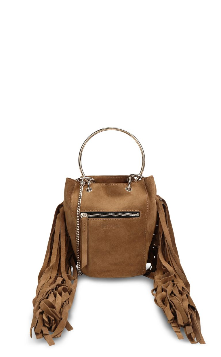 JUST CAVALLI Shoulder bag with fringing Crossbody Bag Woman f