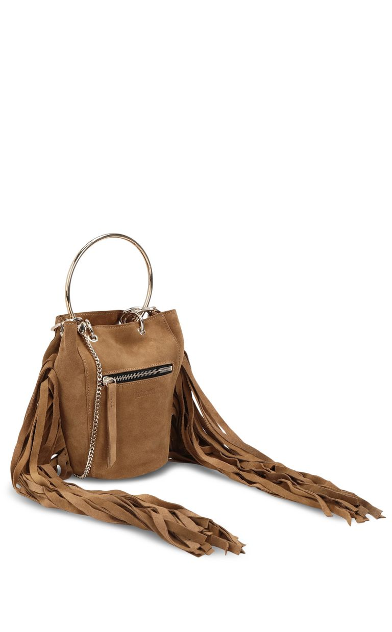 JUST CAVALLI Shoulder bag with fringing Crossbody Bag Woman r