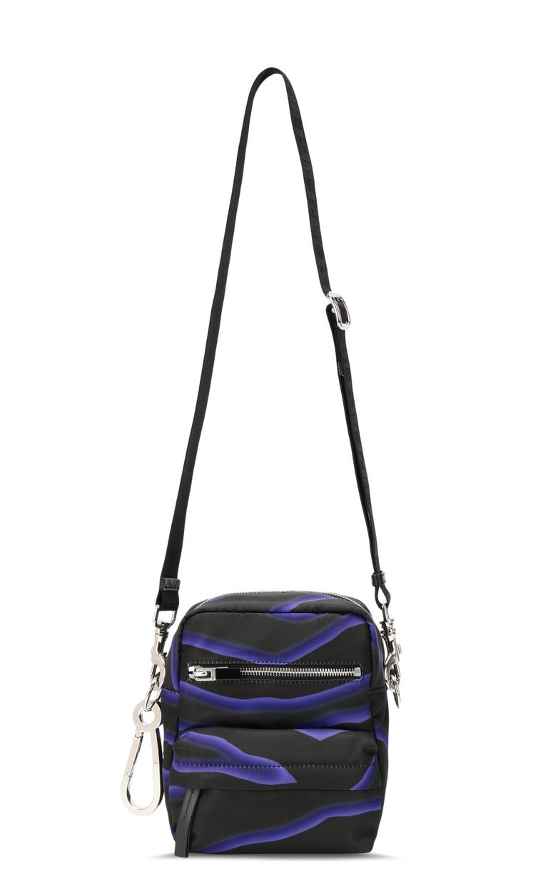JUST CAVALLI Zebra-stripe-print shoulder bag Crossbody Bag Man f