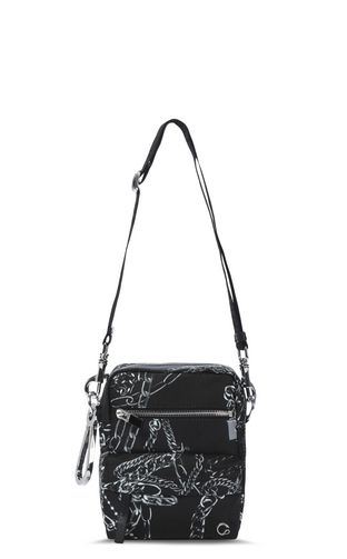 Chains shoulder bag