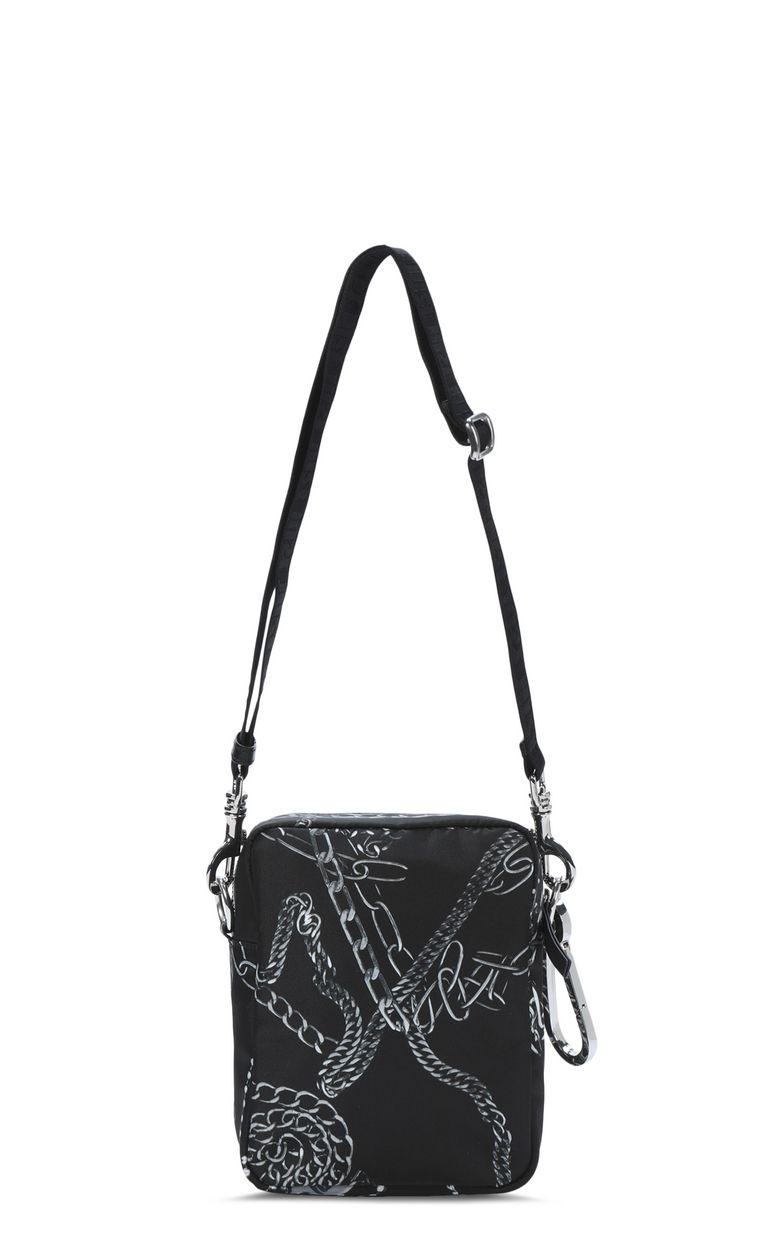 JUST CAVALLI Chains shoulder bag Crossbody Bag Man e