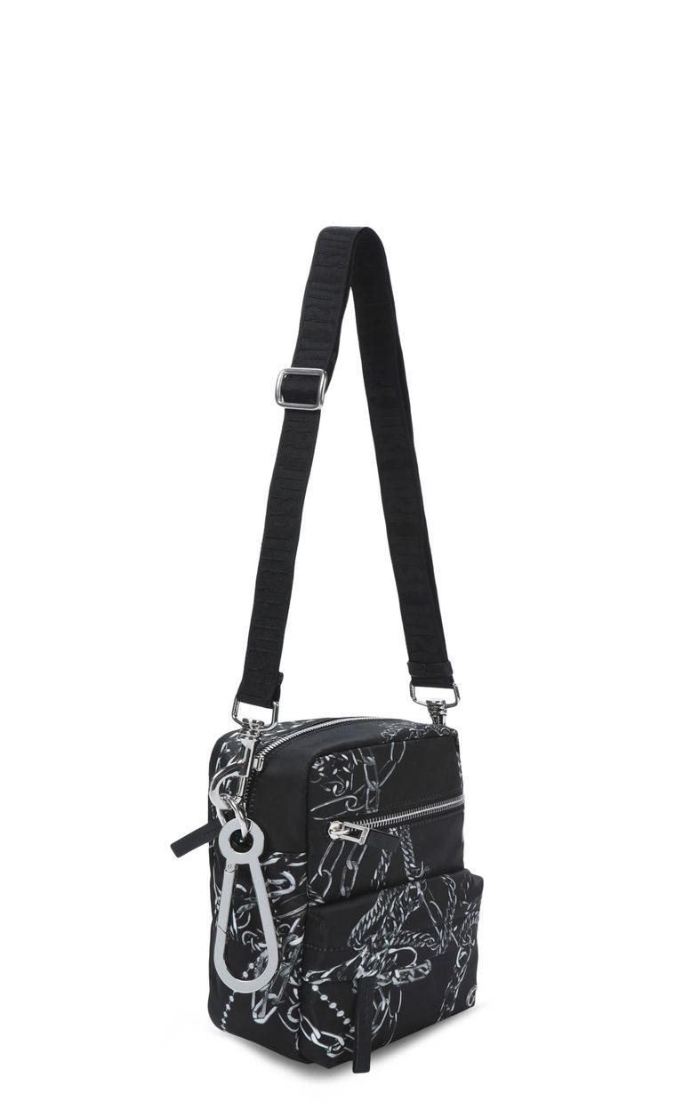 JUST CAVALLI Chains shoulder bag Crossbody Bag Man r