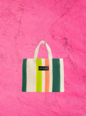 Marni MARNI MARKET shopping bag in Furcraea andina fiber Man