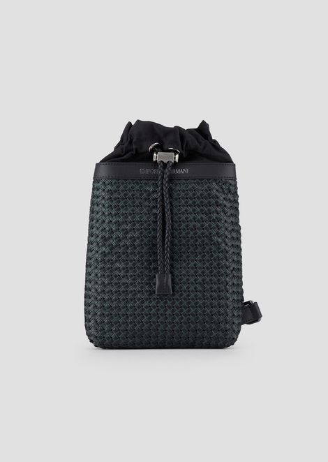 3215db7cf5313 Single-shoulder backpack in smooth