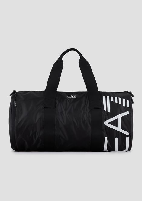 Training bag with maxi-logo print
