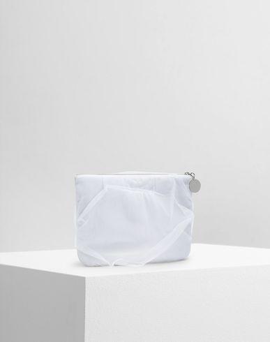 BAGS Tulle pochette White
