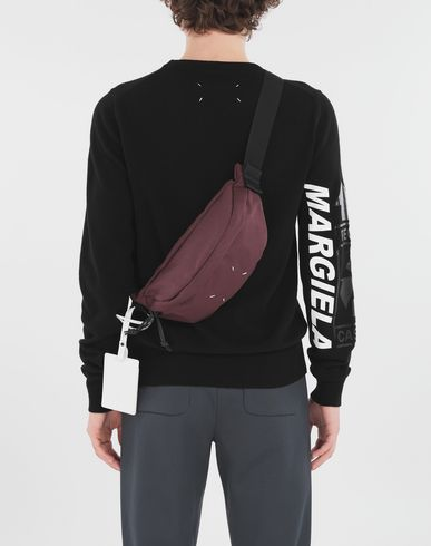 BAGS 4-stitches bumbag Maroon