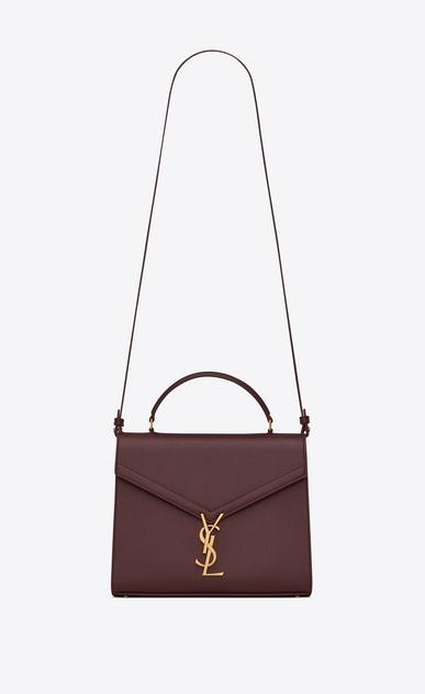 0817460a498 SAINT LAURENT Cassandra bag Woman CASSANDRA top handle Medium bag in grain  de poudre embossed leather