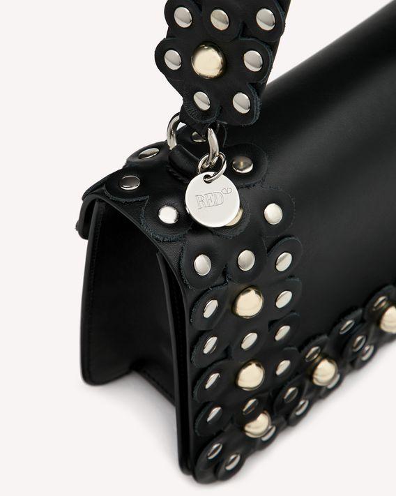 REDValentino フラワーパズル ショルダーバッグ
