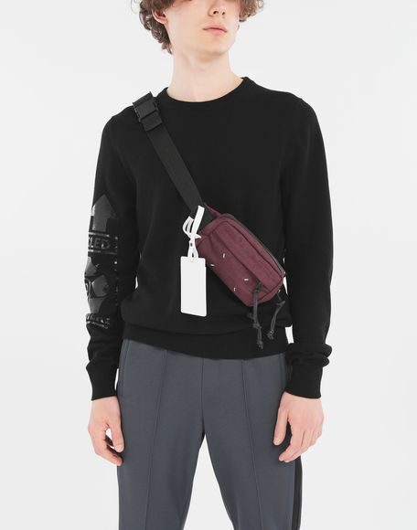 MAISON MARGIELA 4-stitches zip-around bumbag Fanny pack Man r