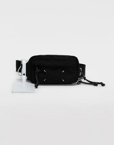 BAGS 4-stitches zip-around bumbag Black