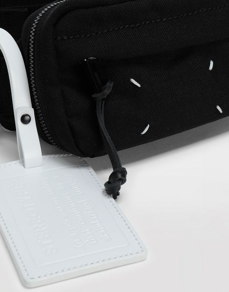 MAISON MARGIELA 4-stitches zip-around bumbag Bum bag Man b