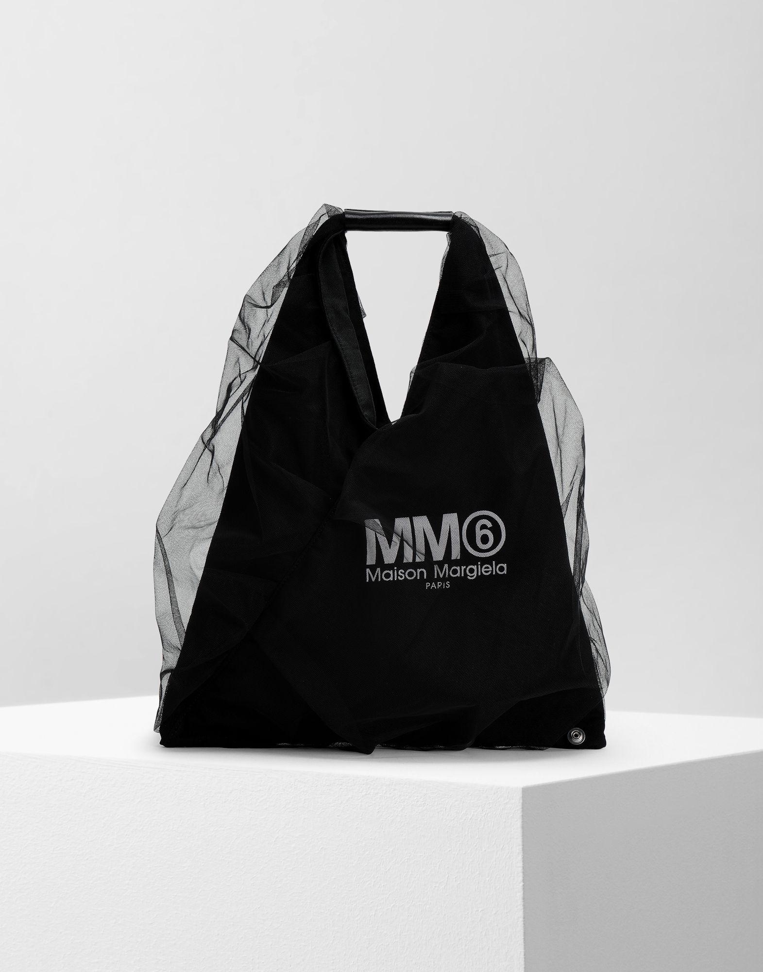 MM6 MAISON MARGIELA Japanese kleine Tasche aus Tüll Handtasche Damen f