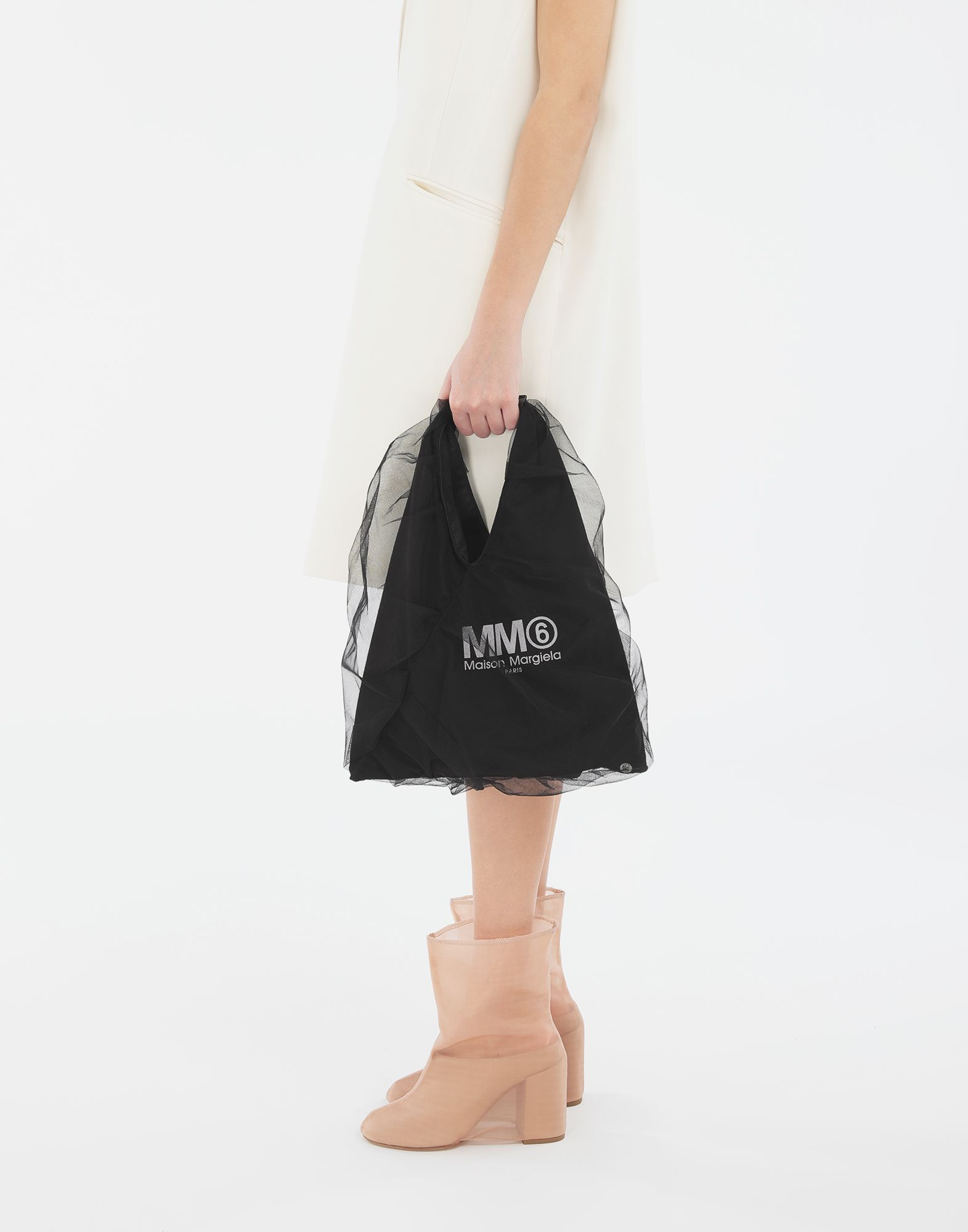 MM6 MAISON MARGIELA Japanese small tulle bag Handbag Woman r