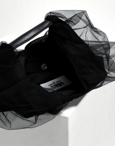 MM6 MAISON MARGIELA Japanese kleine Tasche aus Tüll Handtasche Damen a