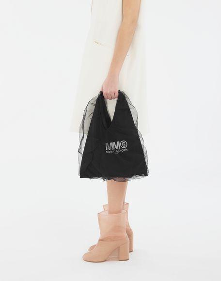 MM6 MAISON MARGIELA Japanese kleine Tasche aus Tüll Handtasche Damen r