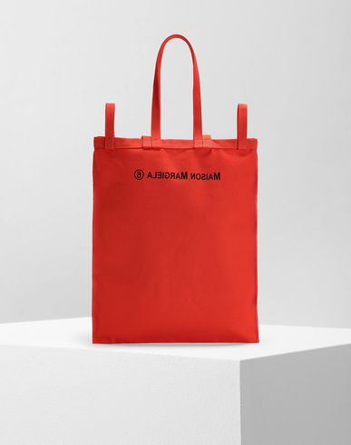 Borsa inside-out con logo