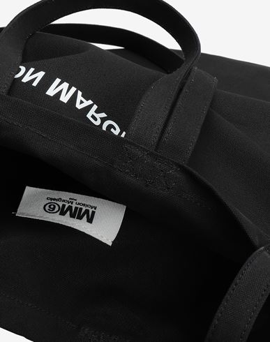 BAGS Inside out logo bag Black
