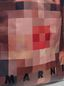 Marni Shopping-Tasche aus transparentem PVC mit rosa Innentasche aus Satin mit Pixel-Grace-Print  Damen - 5