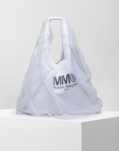 MM6 MAISON MARGIELA Japanese medium tulle bag Handbag Woman f