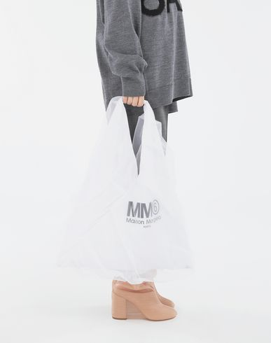 MM6 MAISON MARGIELA Handbag Woman Japanese medium tulle bag r