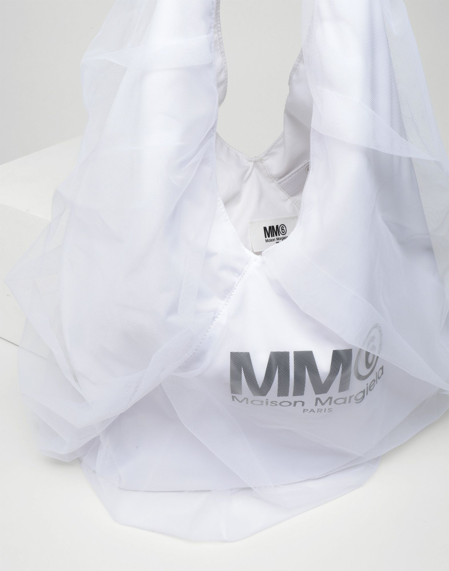MM6 MAISON MARGIELA Japanese medium tulle bag Handbag Woman a