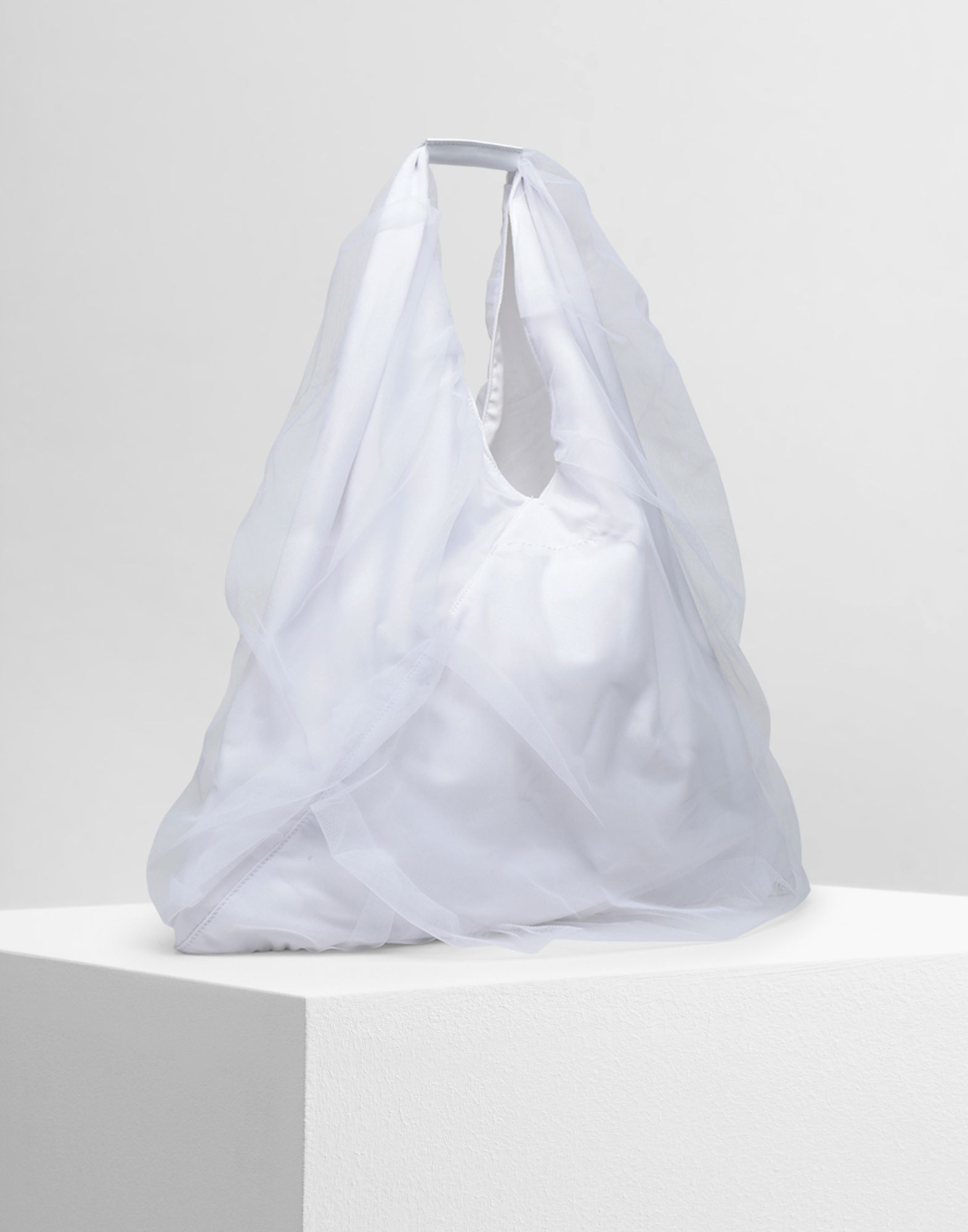 MM6 MAISON MARGIELA Japanese medium tulle bag Handbag Woman d