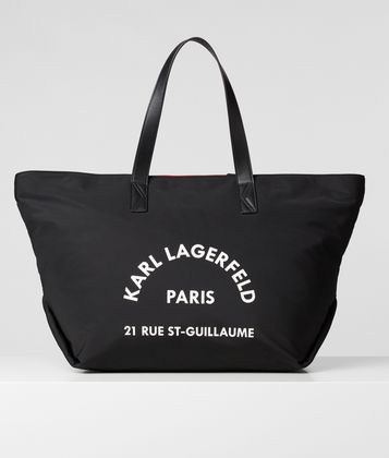KARL LAGERFELD RUE ST GUILLAUME LARGE TOTE