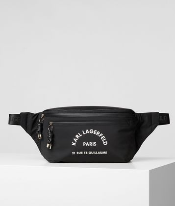 KARL LAGERFELD RUE ST GUILLAUME LARGE BELT BAG