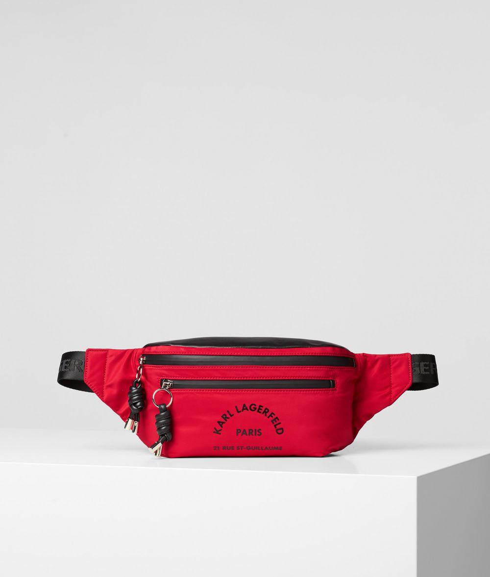 KARL LAGERFELD Rue St Guillaume Belt Bag Fanny pack E f