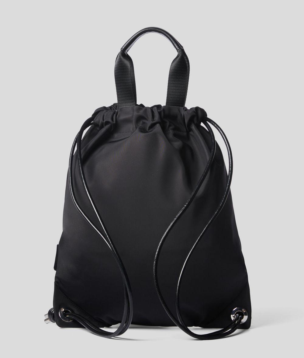 KARL LAGERFELD K/Ikonik Flat Backpack Backpack E d