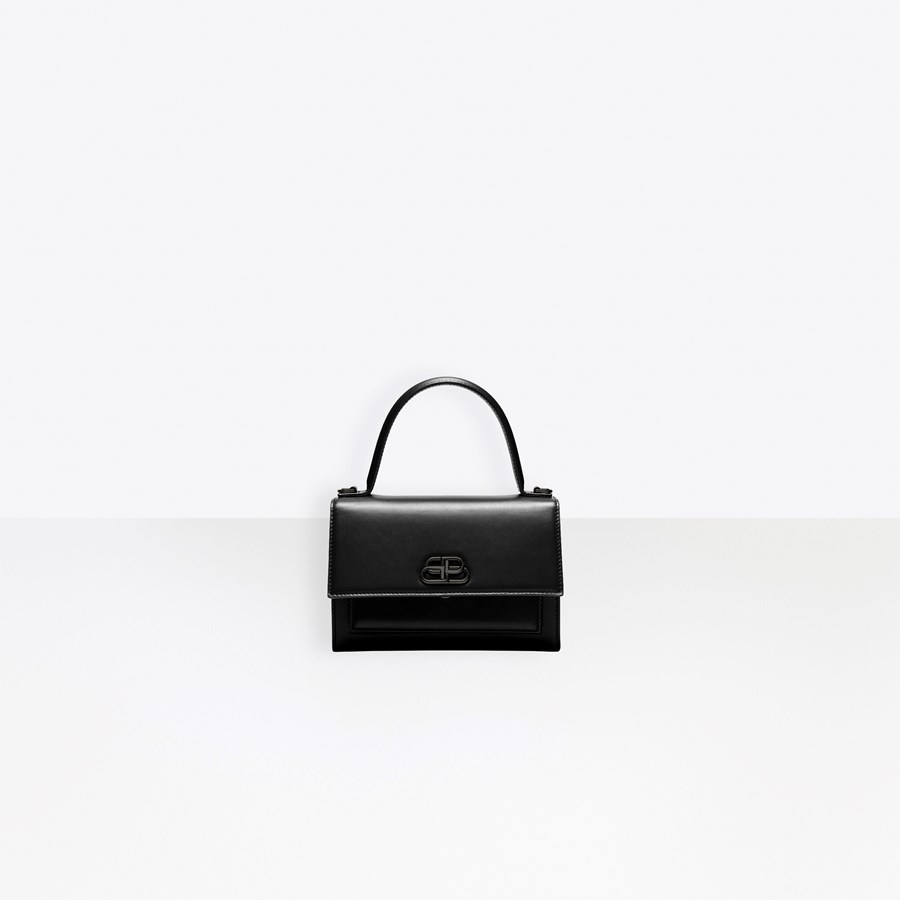 3ef0dabf9 BALENCIAGA Sharp XS Satchel Seasonal Handbag Woman f ...