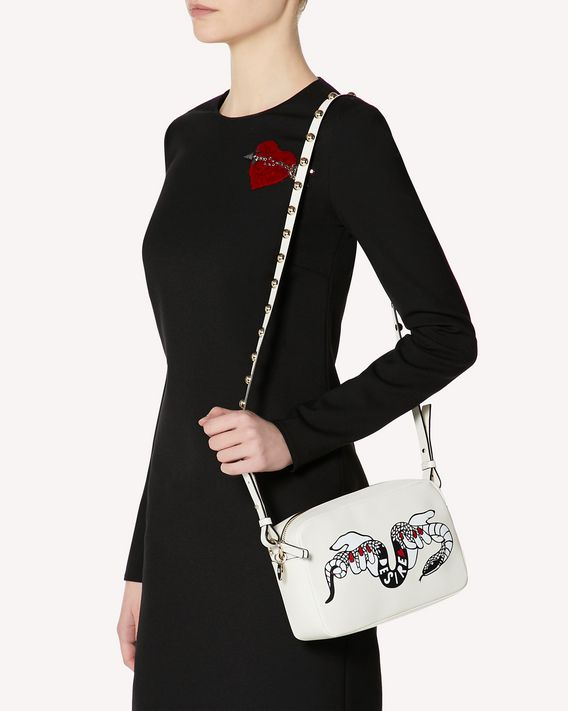 REDValentino HEART'S TALE #2 DESIRE METAL DOT CROSSBODY BAG