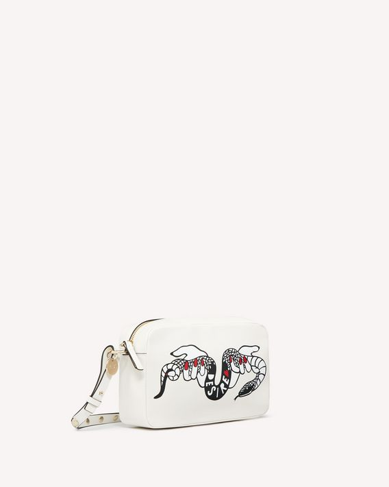 REDValentino METAL DOTS HEARTS'S TALE #2 DESIRE CROSS BODY BAG