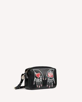 REDValentino HEART'S TALE #1 LOVE LIFE  METAL DOT CROSSBODY BAG