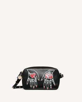 REDValentino METAL DOTS HEARTS'S TALE #1 LOVE LIFE CROSS BODY BAG