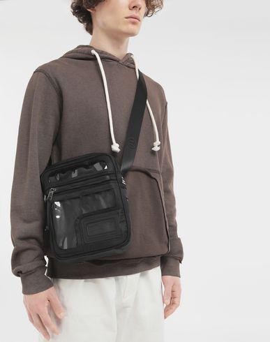BAGS Décortiqué messenger bag Black