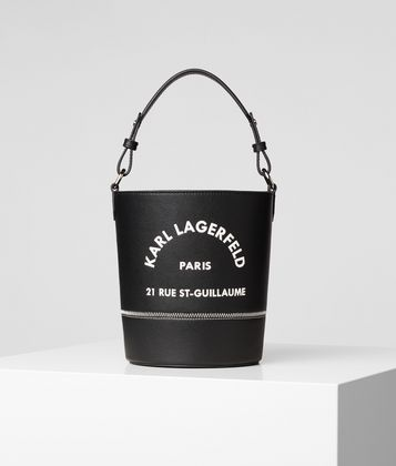 KARL LAGERFELD RUE ST GUILLAUME BUCKET BAG
