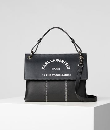 KARL LAGERFELD RUE ST GUILLAUME TOP HANDLE BAG